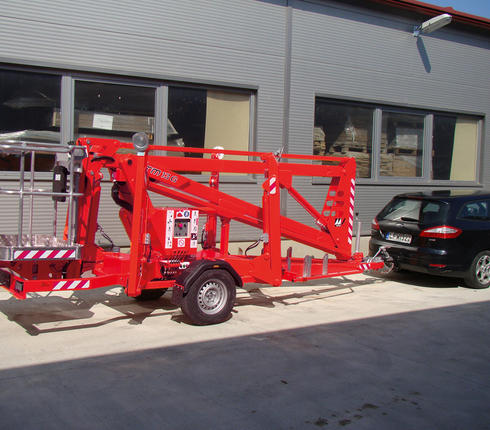 Trailer mounted lift Europelift TM13G - (6)